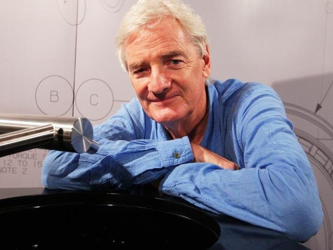 James Dyson has recently opened his own institute of engineering and said he prefers working with young engineers. Picture: Sam Mooy