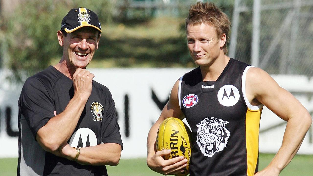 Brown and Wallace soon reunited at Richmond.