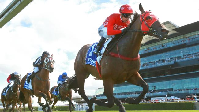 Redzel was back to his best at Royal Randwick on Saturday. Picture: Getty Images