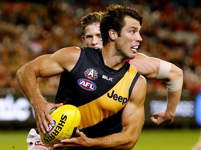 Alex Rance has been named as the AFL's best key defender. Picture: Wayne Ludbey.