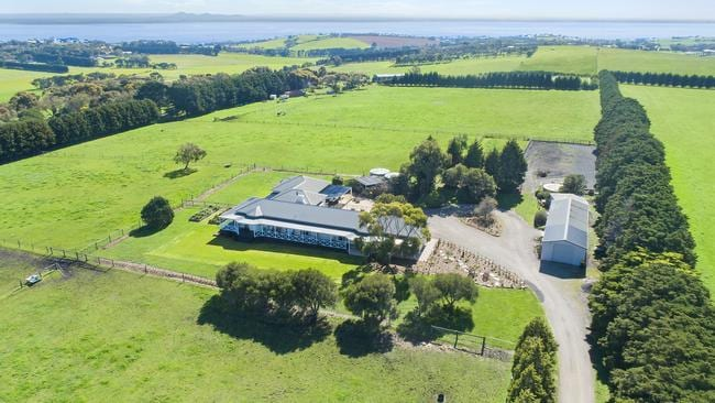 This premium property at 235 Whitcombes Rd, Drysdale is on the market for $2.6 million.