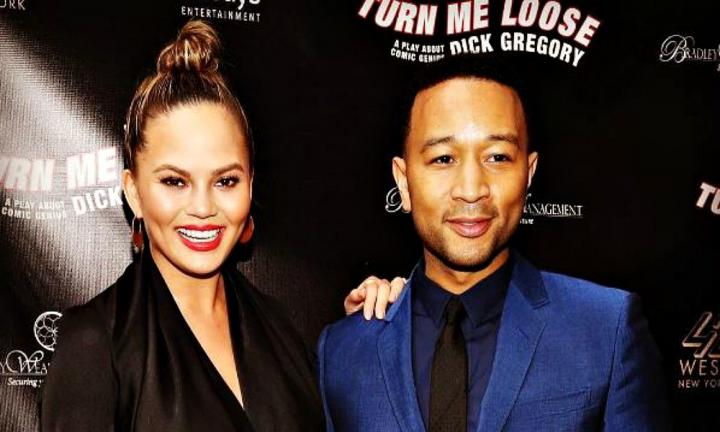 Adorable! Watch Chrissy Teigen's daughter Luna wiggle to daddy's song