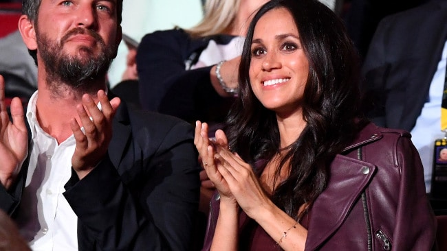 Soho House consultant Markus Anderson and Meghan Markle at the opening ceremony of the Invictus Games Toronto 2017. Photo: Samir Hussein/WireImage.