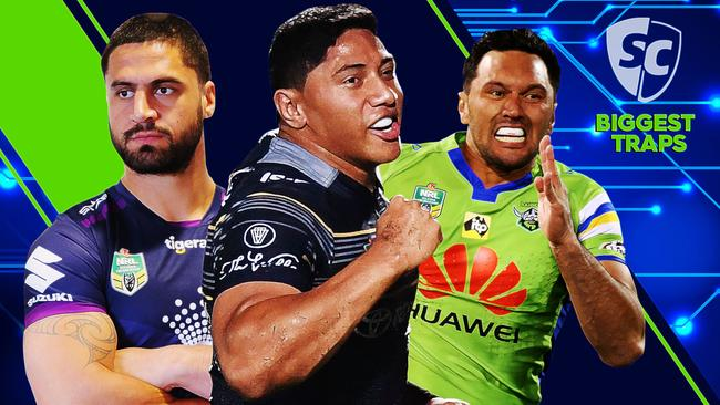 NRL SuperCoach 2018 Biggest Traps