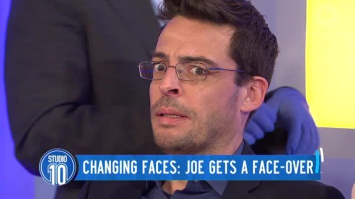 Joe Hildebrand gets Botox live on air