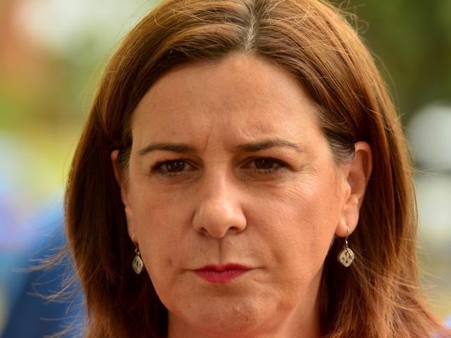 Opposition leader Deb Frecklington in Townsville. Picture: Evan Morgan