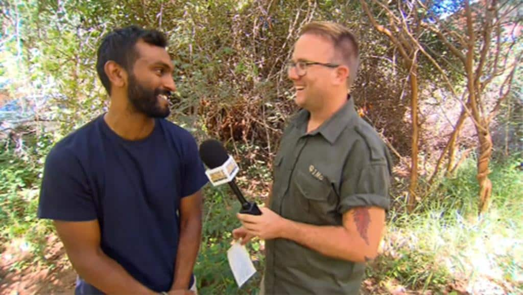 JMO chats with Nazeem Hussain post elimination from I'm a Celebrity... Get Me Out Of Here!