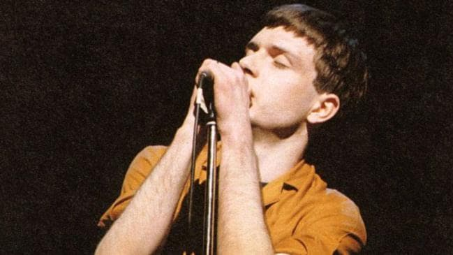 The saddest song of all time ... Ian Curtis from Joy Division.