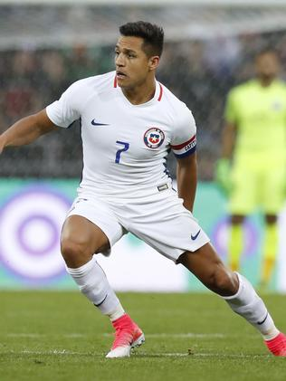 Chile's Alexis Sanchez.