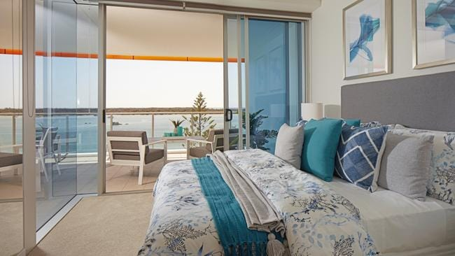 The Gold Coast apartment is at 711/430 Marine Parade, Biggera Waters.