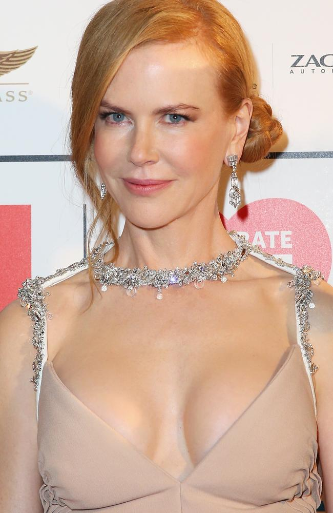 Spectacular: Actress Nicole Kidman attends the Celebrate Life Ball in Melbourne.