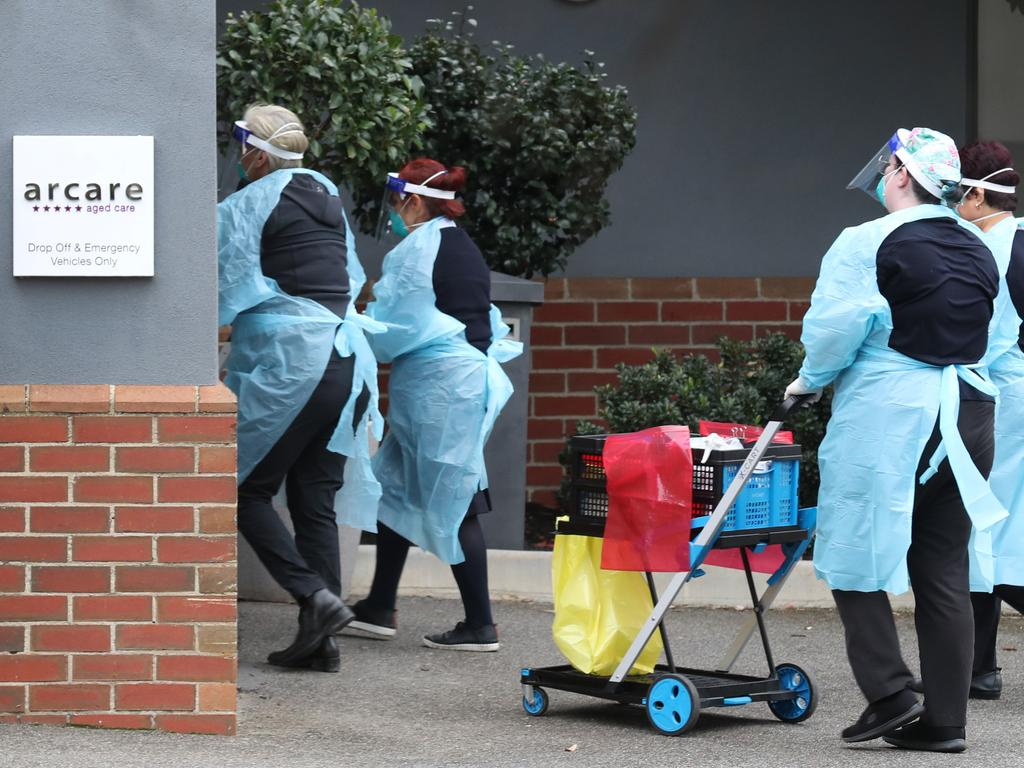 Arcare Maidstone Aged Care is has been listed as a Covid site after a resident tested positive.