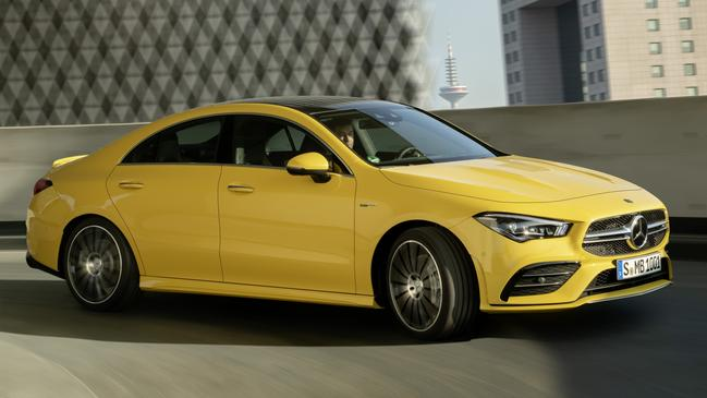 Mercedes-AMG CLA 35 gives buyers a cheaper alternative to the hardcore AMG 45 version.