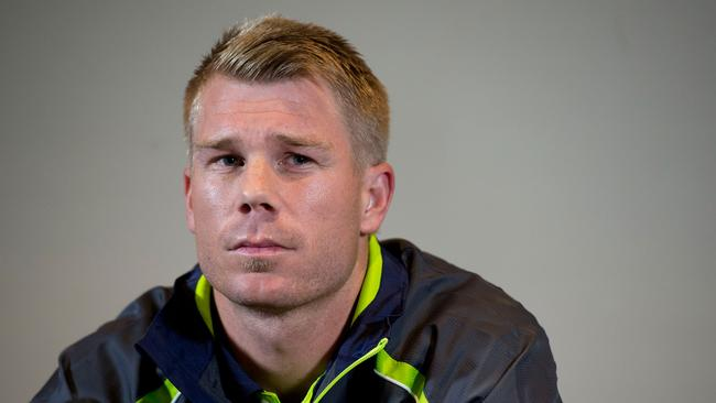 David Warner was suspended in 2013 for punching Joe Root.