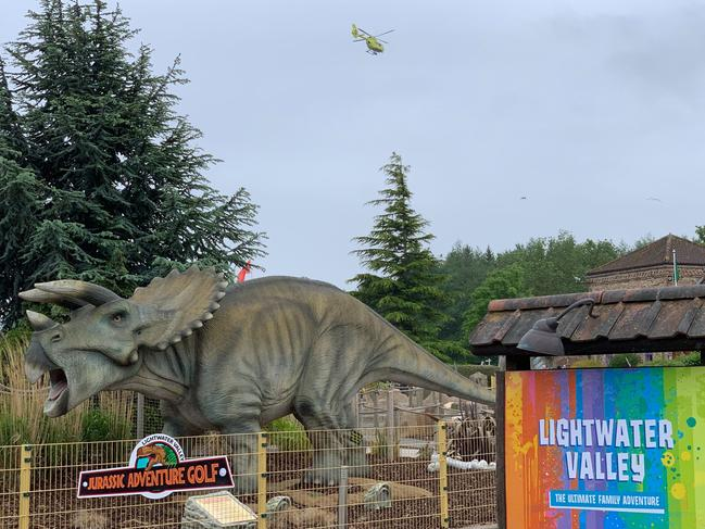 Lightwater Valley theme park. Picture: Simon Moran/Getty Images