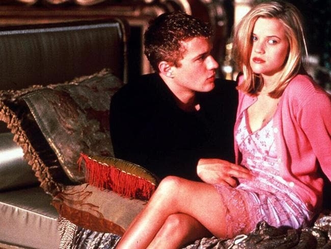 Ryan Phillippe and Reese Witherspoon in Cruel Intentions.