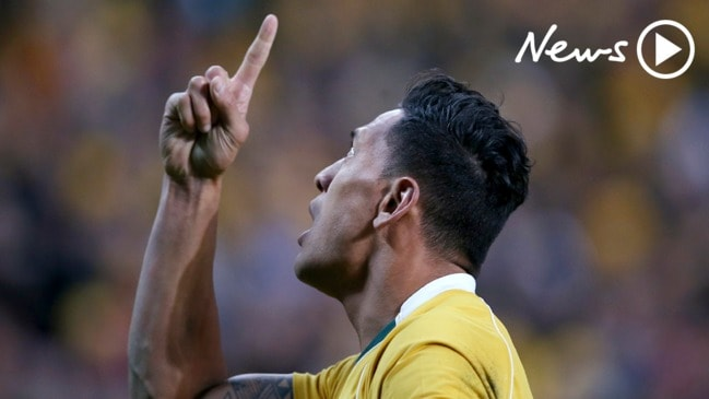 Israel Folau breaks his silence on religious beliefs