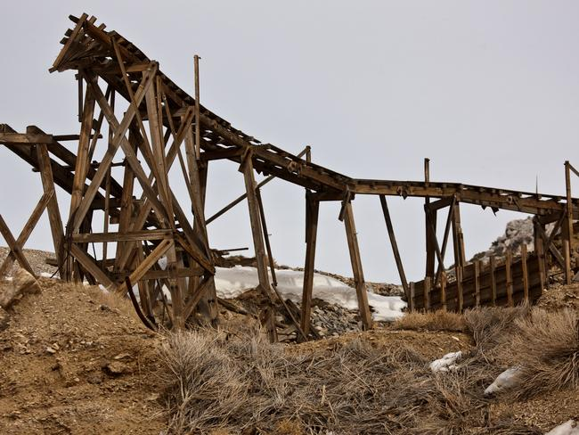 The derelict tram trestle. Picture: Alamy