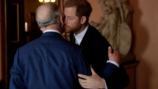 Prince Harry and Prince Charles enjoy a close relationship. (Photo by Matt Dunham - WPA Pool/Getty Images)
