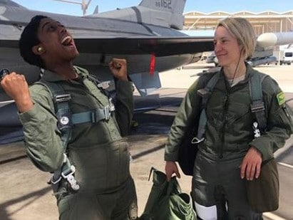 "Lashana Lynch played the fighter pilot in ""Captain Marvel"" and will be given the role of 007. Picture: Instagram"