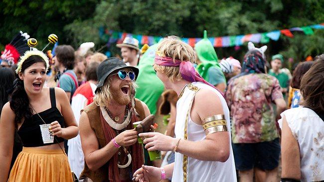 Anything goes at the Secret Garden Festival, NSW. Picture: Secret Garden Festival