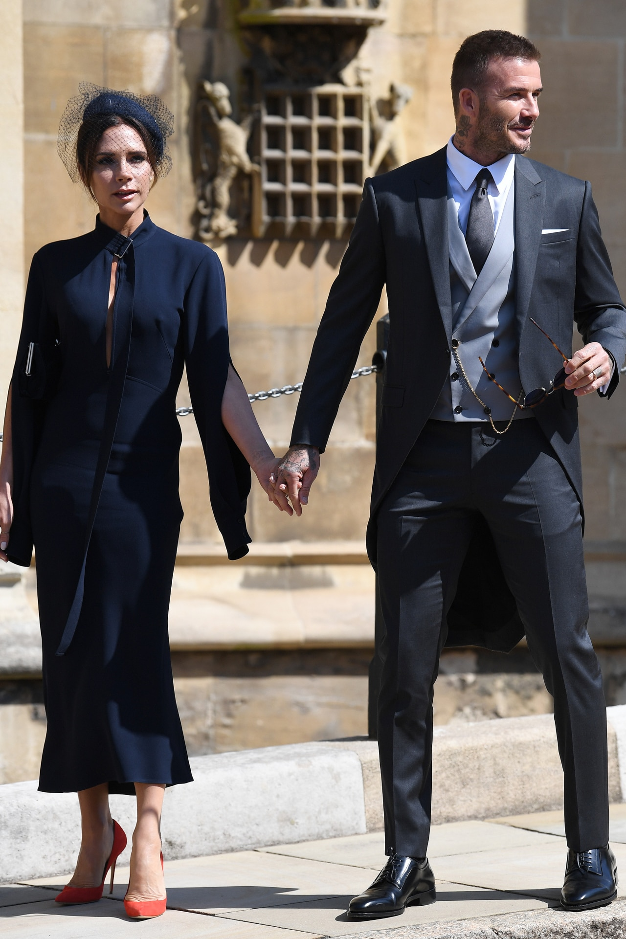 15f8bd8e41 Here s how you could win Victoria and David Beckham s royal wedding outfits