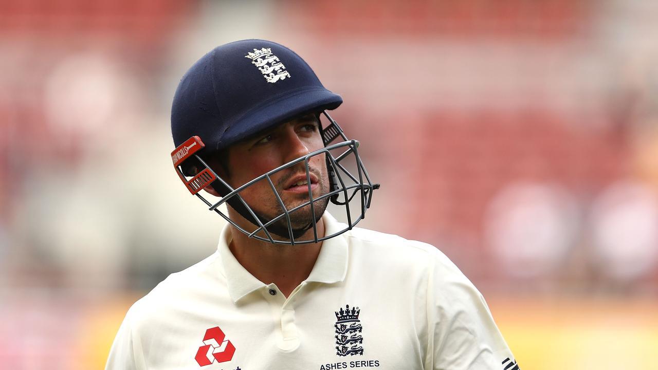 Nasser Hussain: Alastair Cook is the mentally-toughest cricketer I've ever seen.