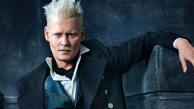 Johnny Depp was asked to resign from his role as Gellert Grindelwald in <i>Fantastic Beasts: The Crimes of Grindelwald</i>. Picture: Warner Bros