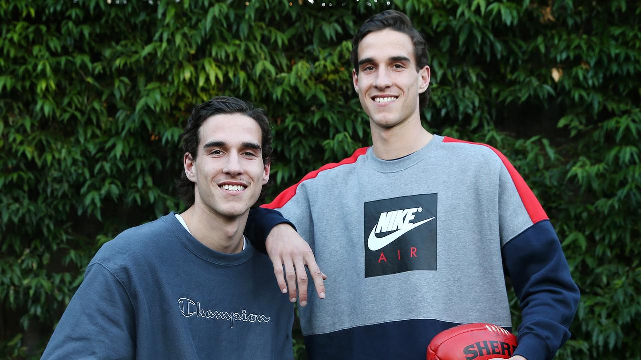 Identical twins Max (left) and Ben King are both future top 10 AFL draft picks. Picture: Michael Klein