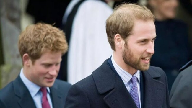 Harry resented the fact that William got away with everything. Image: News Group Newspapers Ltd