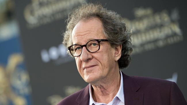 Ms Norvill's evidence says she had 'no doubt' actor Geoffrey Rush had run his hand across her right breast deliberately. Picture: AFP