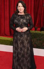 Actor Ann Dowd attends the 24th Annual Screen ActorsGuild Awards at The Shrine Auditorium on January 21, 2018 in Los Angeles, California. Picture: Kevork Djansezian/Getty Images/AFP