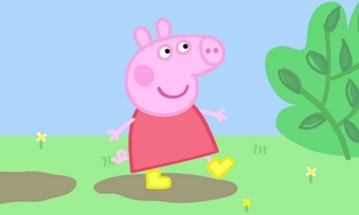 Peppa Pig is all grown up and she's off to university