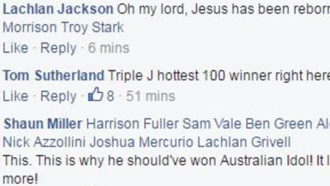 Shannon Noll is popular online. Picture: Facebook