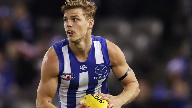 North Melbourne youngster Mason Wood. Picture: Michael Klein