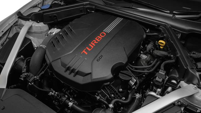 The heart of the matter: the 3.3-litre twin turbo V6. Picture: Supplied.