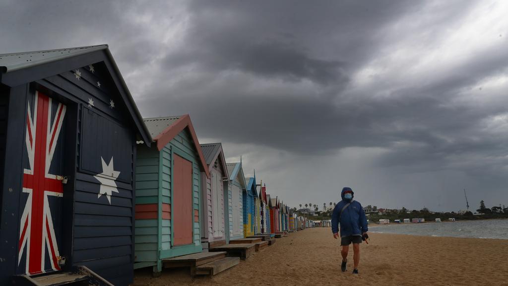 Melbourne won't see sunnier days until mid-next week. Picture: NCA NewsWire / David Crosling