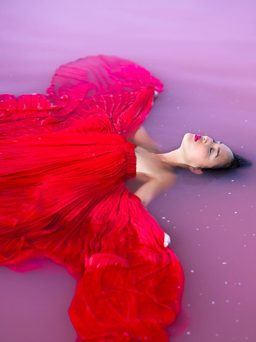 Wa S Pink Lake In Port Gregory Is Being Used By Lancome To