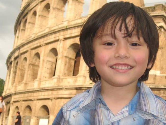 Julian Cadman, 7. Picture: Facebook