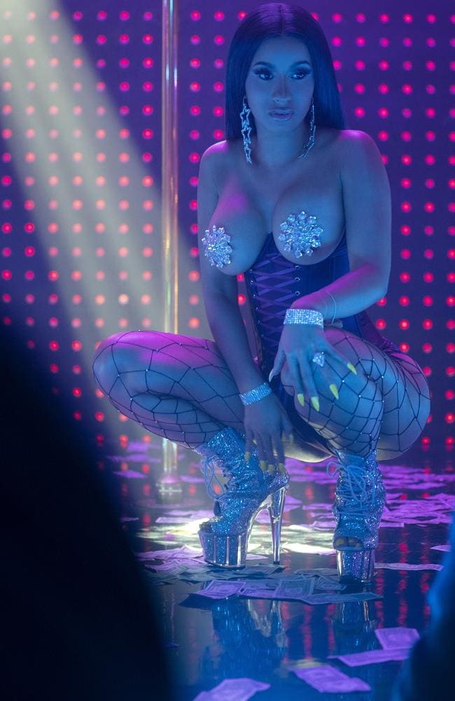 Cardi B also appears in the racy film. Picture: Roadshow Films.
