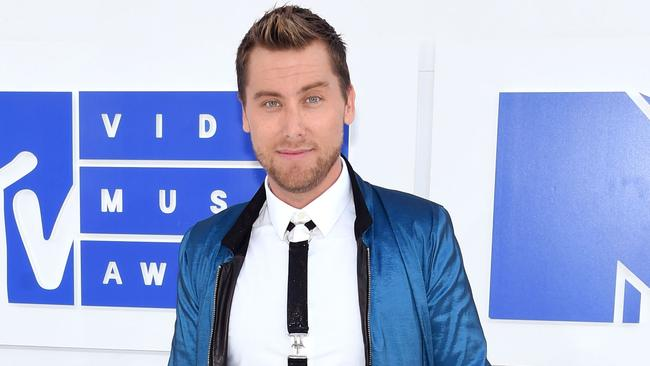 Lance Bass at the MTV Awards in 2016. Picture: Jamie McCarthy/Getty Images/AFP