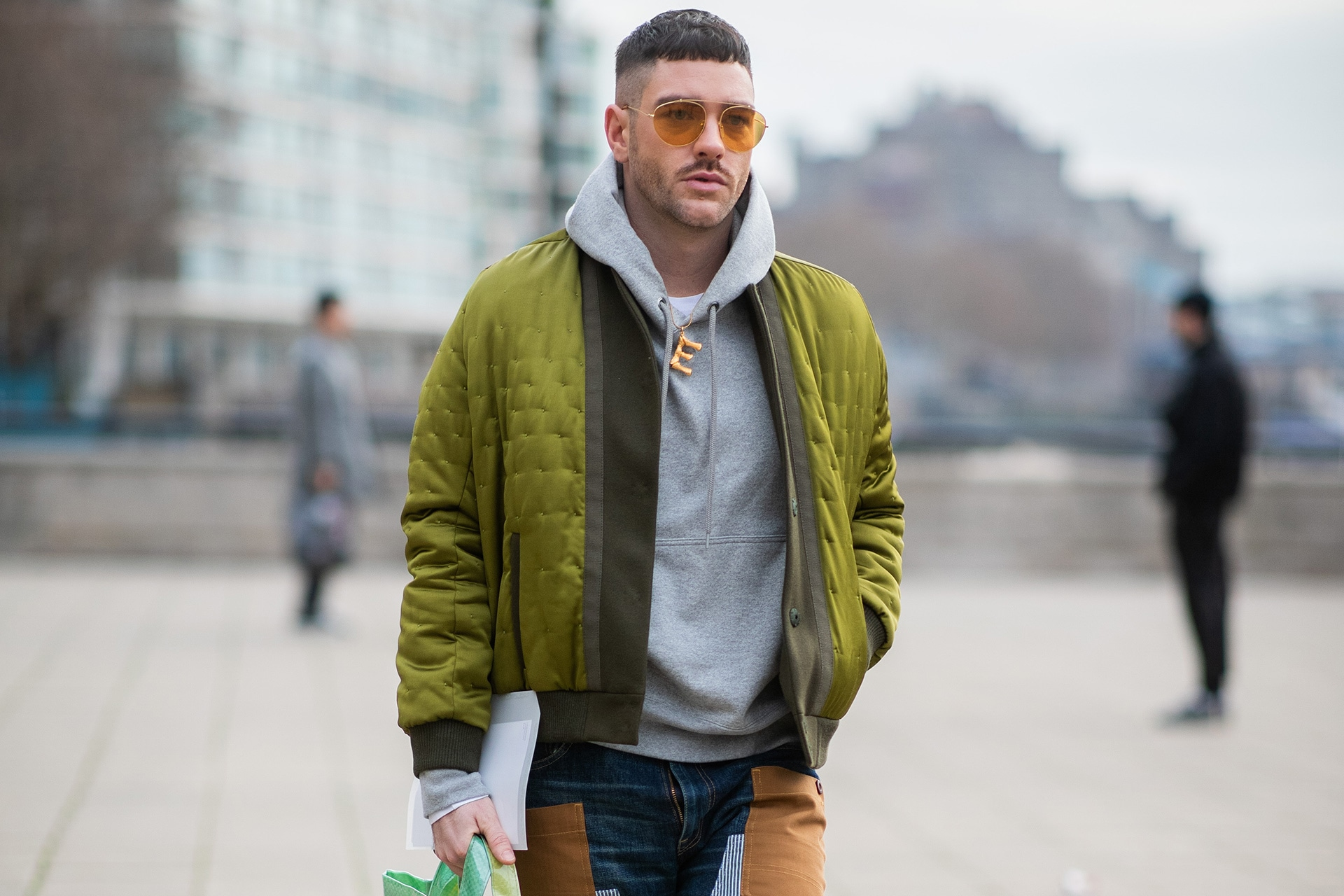 Bomber Jackets Aren T Going Anywhere Here S 6 Ways To Wear Them In 2019 Gq