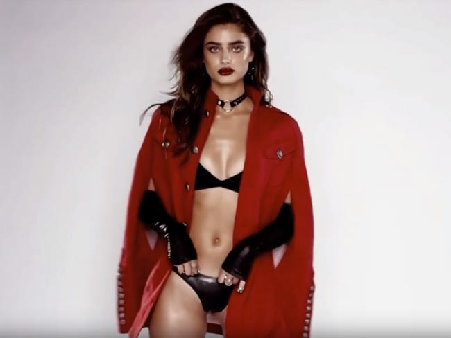Taylor Hill Is Naughty And Nice In Two New Love Advent Videos