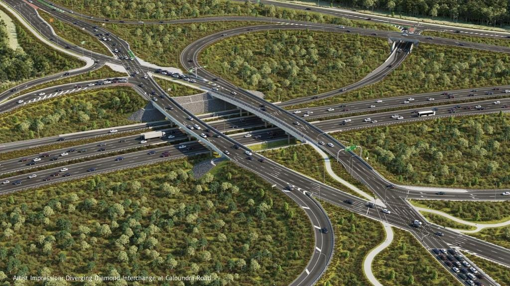 Some drivers weren't impressed with the Diverging Diamond Interchange.