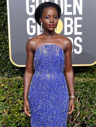 Lupita Nyong'o gets the Wintour tick of approval. Picture: Frazer Harrison/Getty/AFP