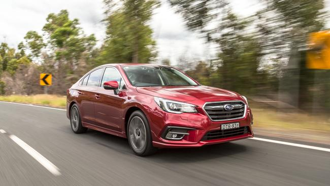 Subaru's sales have been hit by a factory shutdown restricting supply. Taken by Thomas Wielecki.