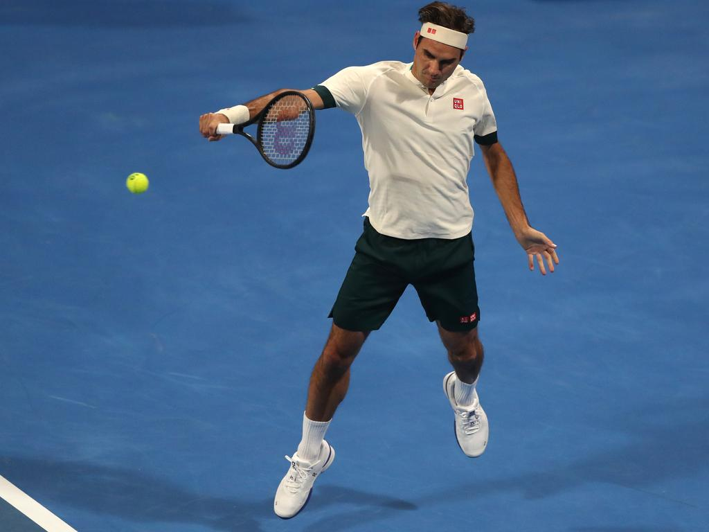 Federer is taking baby steps in his comeback.