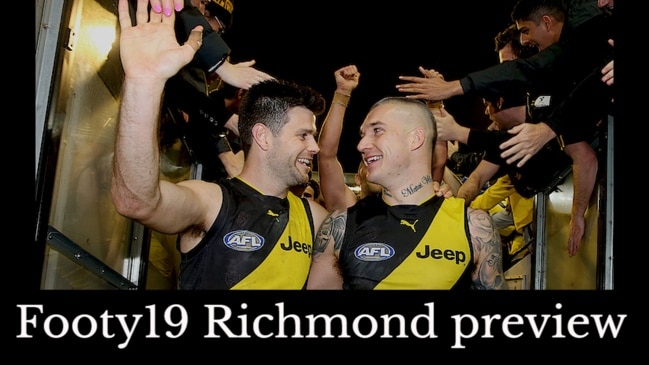 Footy19 Richmond preview