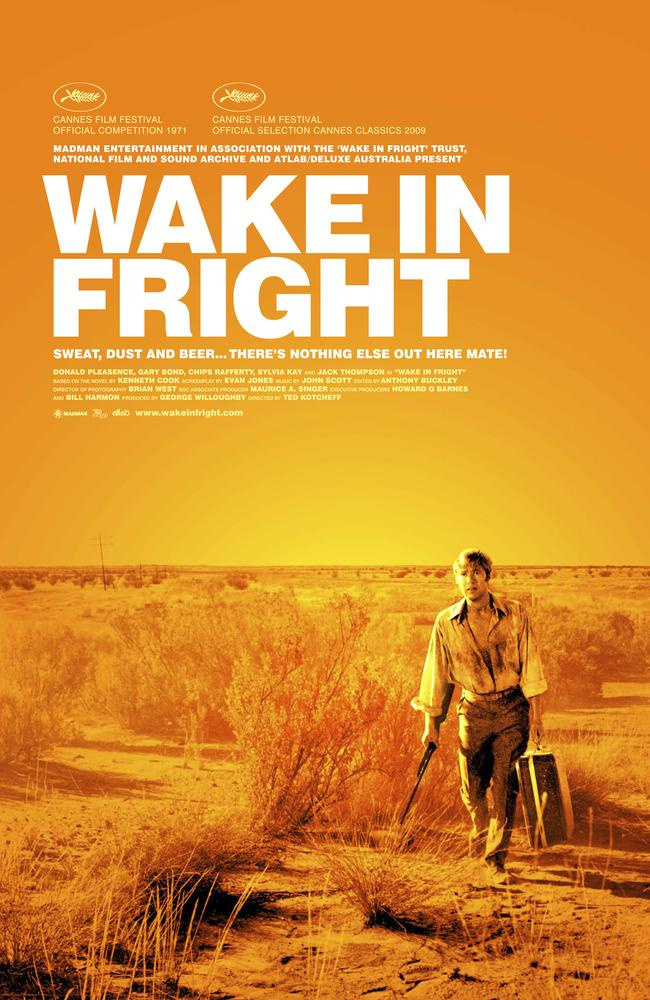 The poster for the all-time great Australian film. Picture: Supplied