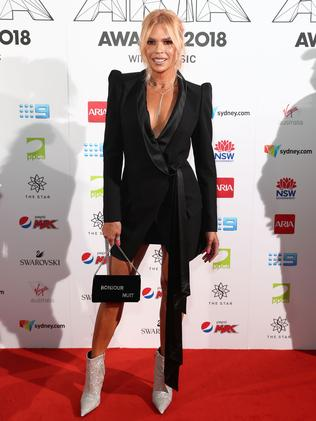 It's silver all the way for Sonia Kruger. Picture: Getty